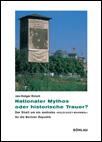 """Cover """"Nationaler Mythos oder historische Trauer?"""