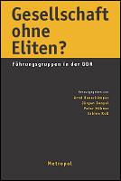 Cover Gesellschaft ohne Eliten