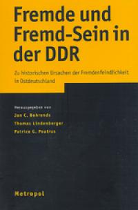 Cover Fremde und Fremd-Sein in der DDR