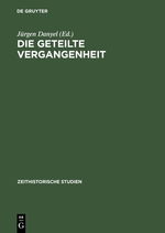 Cover Geteilte Vergangenheit