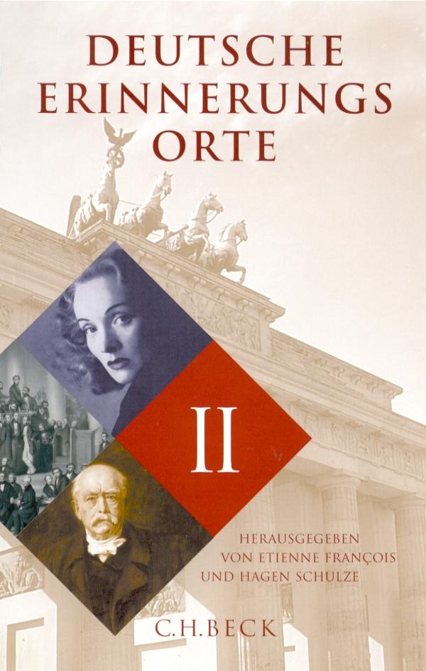 Cover Deutsche Erinnerungsorte