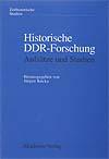 Cover Historische DDR-Forschung