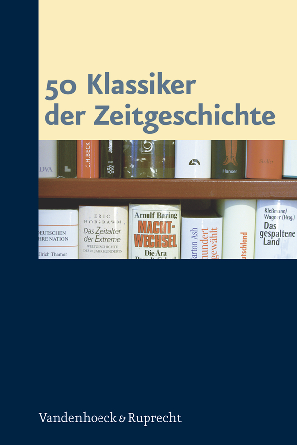 Cover 50 Klassiker der Zeitgeschichte