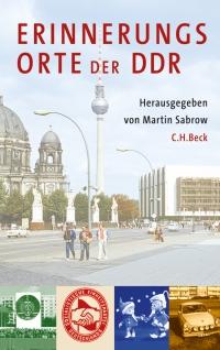 Cover Erinnerungsorte der DDR