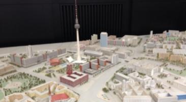 Modell von Ost-Berlin, Senatsverwaltung für Stadtentwicklung, Foto: Hanno Hochmuth