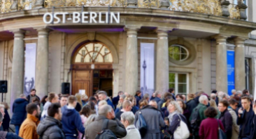 "Opening of the Exhibition ""East Berlin. Half a Capital"", May 10, 2019, Photo: Stefanie Eisenhuth"