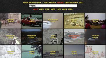 """Schlagwort-Suche im Online-Archiv """"Open Memory Box"""""""