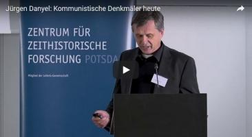 """Dr. Jürgen Danyel (ZZF Potsdam) einer der Organisatoren der Tagung referierte zum Thema """"Kommunistische Denkmäler heute"""""""