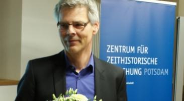 "Der Historiker Jens Jäger erhielt in Potsdam den ""Zeitgeschichte-digital""-Preis 2018, Foto: Marion Schlöttke/ZZF Potsdam"