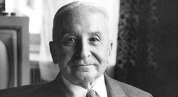 Ludwig von Mises, Quelle: Ludwig von Mises Institute (wikimedia commons, Lizenz: CC BY-SA 3.0)