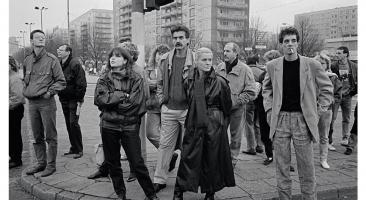 Foto: 4. November 1989, Alexanderplatz Berlin (© Christina Glanz)