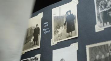 Fotoalbum aus der DDR, Foto: Sandra Starke
