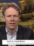 Prof. Dr. Frank Bösch; Screenshot ARD alpha