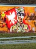 © Stiopa, CC BY-SA 4.0, Graffiti in Gorzów, Polen (Ausschnitt)