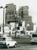 Coverfoto: PNN / Manfred Thomas, Theaterneubau am Alten Markt, Baustart 1989, Abriss des Rohbaus 1991