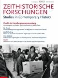 """Buchcover der Zeitschrift Zeithistoriche Forschungen, Themenheft """"Flucht als Handlungszusammenhang"""", 3/2018"""