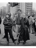 Foto: 4. November 1989, Alexanderplatz Berlin (© Christina Glanz)