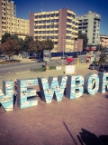 Pristina's Newborn Monument was unveiled on Feb. 17, 2008, the day Kosovo declared its independence from Serbia. Nine years after the war, it was intended to mark a new start. © Stefanie Eisenhuth