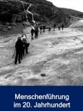 Titelbild des Programmflyers: Geführte Gletscherwanderung, Norwegen (2013), Foto: Privat