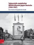 """Buchcover: """"Die Todesurteile sowjetischer Militärtribunale gegen Deutsche (1944-1947)"""""""