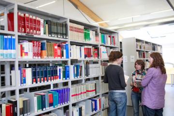 ZZF-Bibliothek, Foto: Jan Zappner