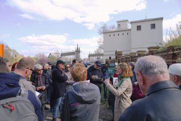 Eröffnung der Open Air Ausstellung am 10. April 2019 über das DDR-Grenzregime in Potsdam, Foto: M. Schlöttke