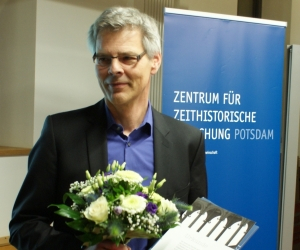 Der Zeitgeschichte-digital-preis 2018 ging an Jens Jäger, Foto: Marion Schlöttke