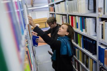 ZZF-Bibliothek, Foto: DAAD/Jan Zappner