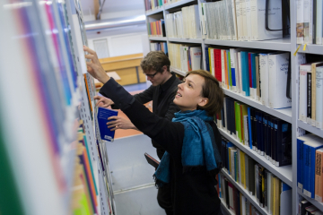 ZZF-Bibliothek, photo: DAAD/Jan Zappner