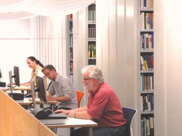 ZZF-Bibliothek, photo: ZZF/Sven Hilbrandt