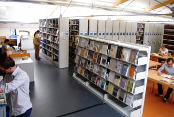 Die ZZF-Bibliothek, Foto: ZZF/Sven Hilbrandt