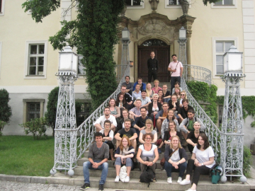 Students of the Master Program Public History - Excursion to Warschau 2016, Photo: ZZF