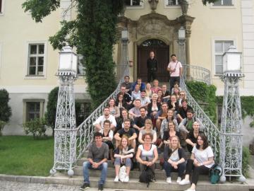 Studierende des Master-Studiengangs Public History - Excursion nach Breslau 2016, Foto: ZZF