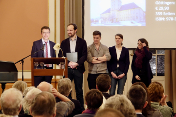 Prof. Paul Nolte (FU) hält eine kurze Dankesrede / Foto: ZZF