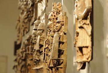 Benin-Bronzen im British Museum in London, 2012
