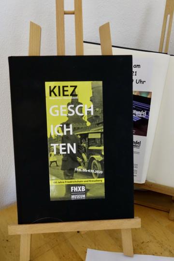 """Ausstellung """"Kiezgeschichten"""", die derzeit die FOTOGALERIE Friedrichshain zeigt. Fotos (5): Stefanie Eisenhuth"""