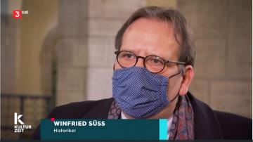 ZZF-Historiker Winfried Süß am 18.2.2021 im Landgericht Berlin.