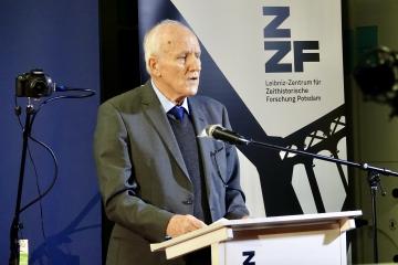 Helmut Knüppel, Vorsitzender des ZZF-Fördervereins
