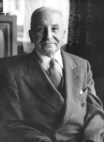 Ludwig von Mises, Quelle: Ludwig von Mises Institute (wikimedia commons, Lizenz: CC BY-SA 3.0)